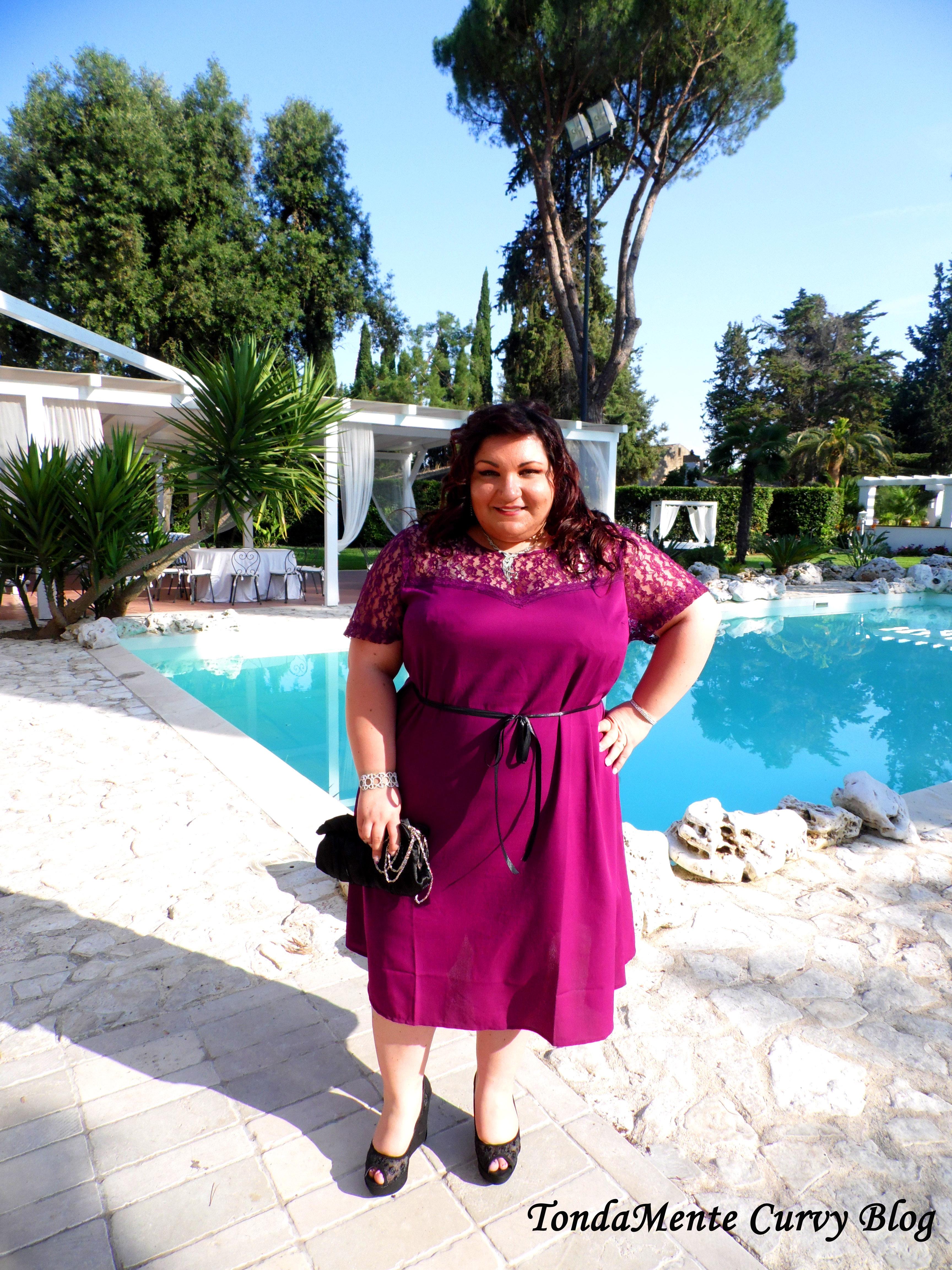 Plus Size Outfit Cerimonia: Abito Asos Curve