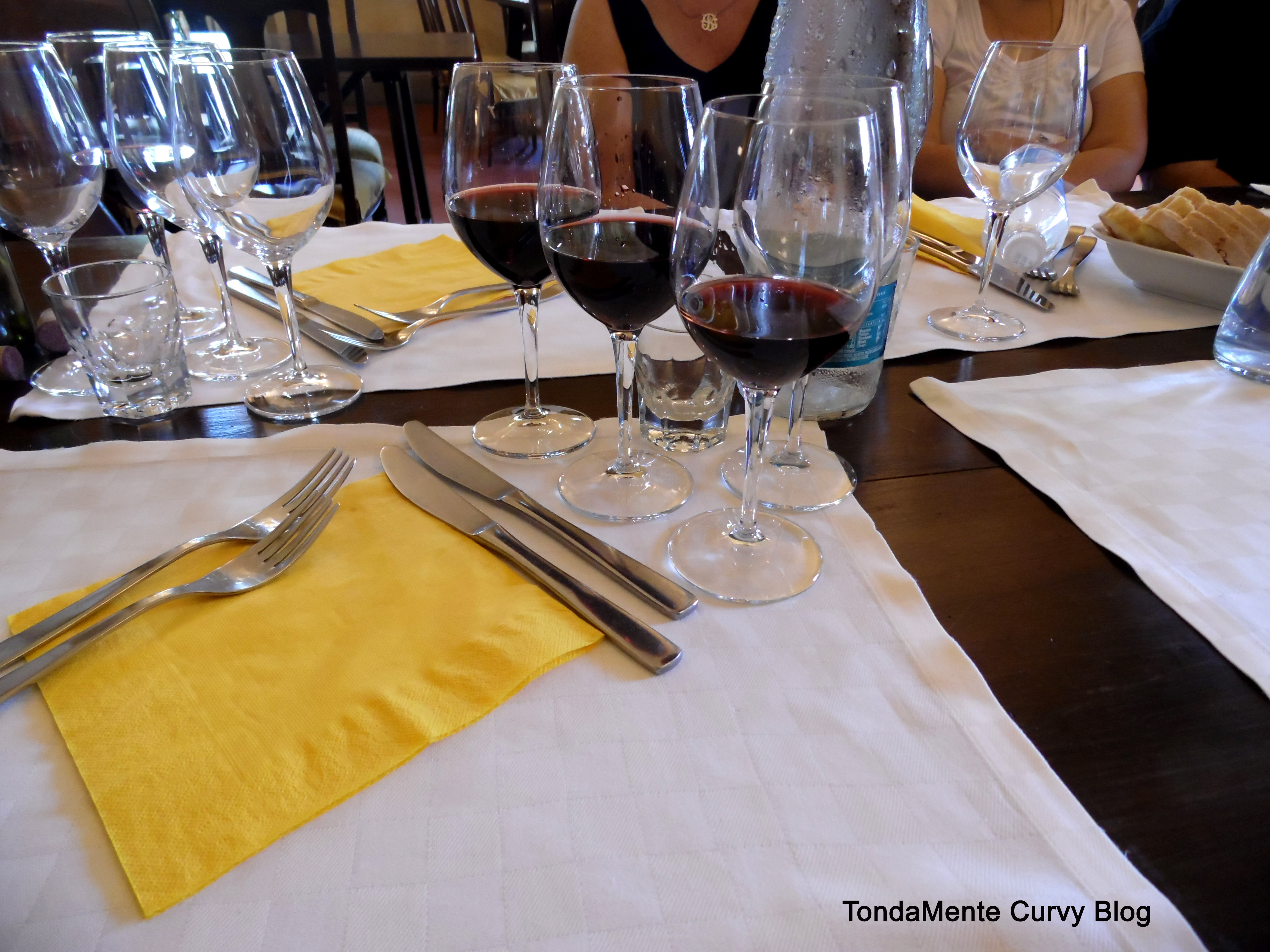 Degustazione a tavola