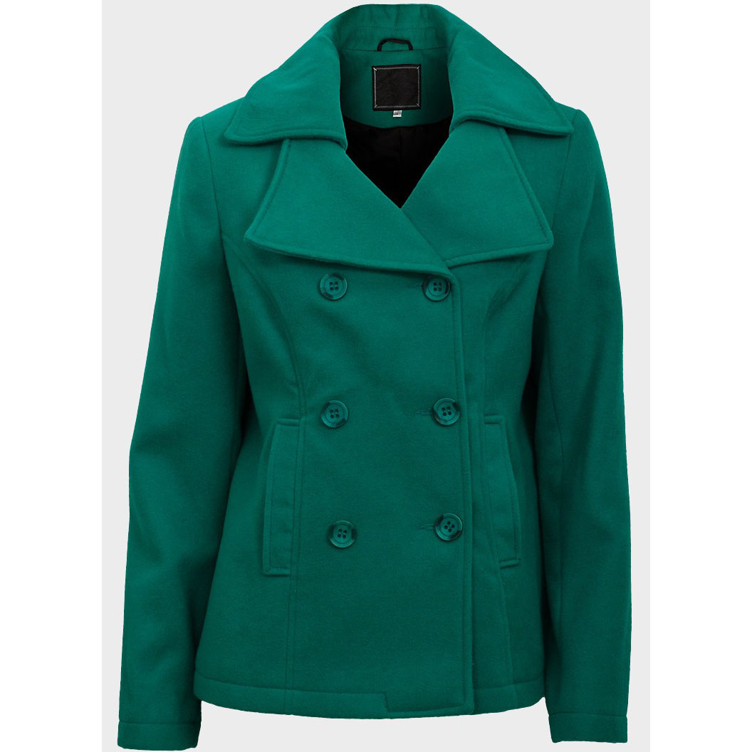 Cappotto Verde1 plus size