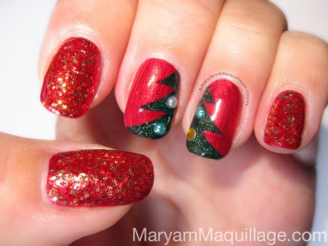 christmas_nails_red_green_nail_art