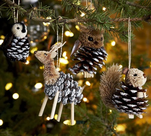 poshposh.com200912pottery-barn-pinecone-critter-ornament-collection-includes-a-penguin-reindeer-owl-and-squirrel