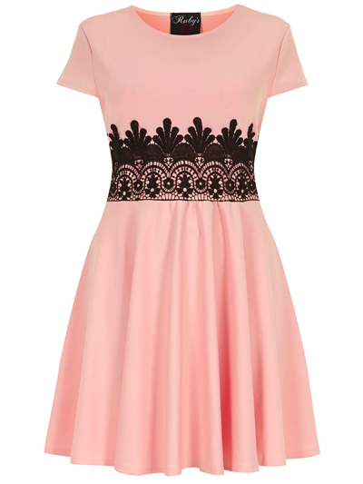 abito rosa fronte