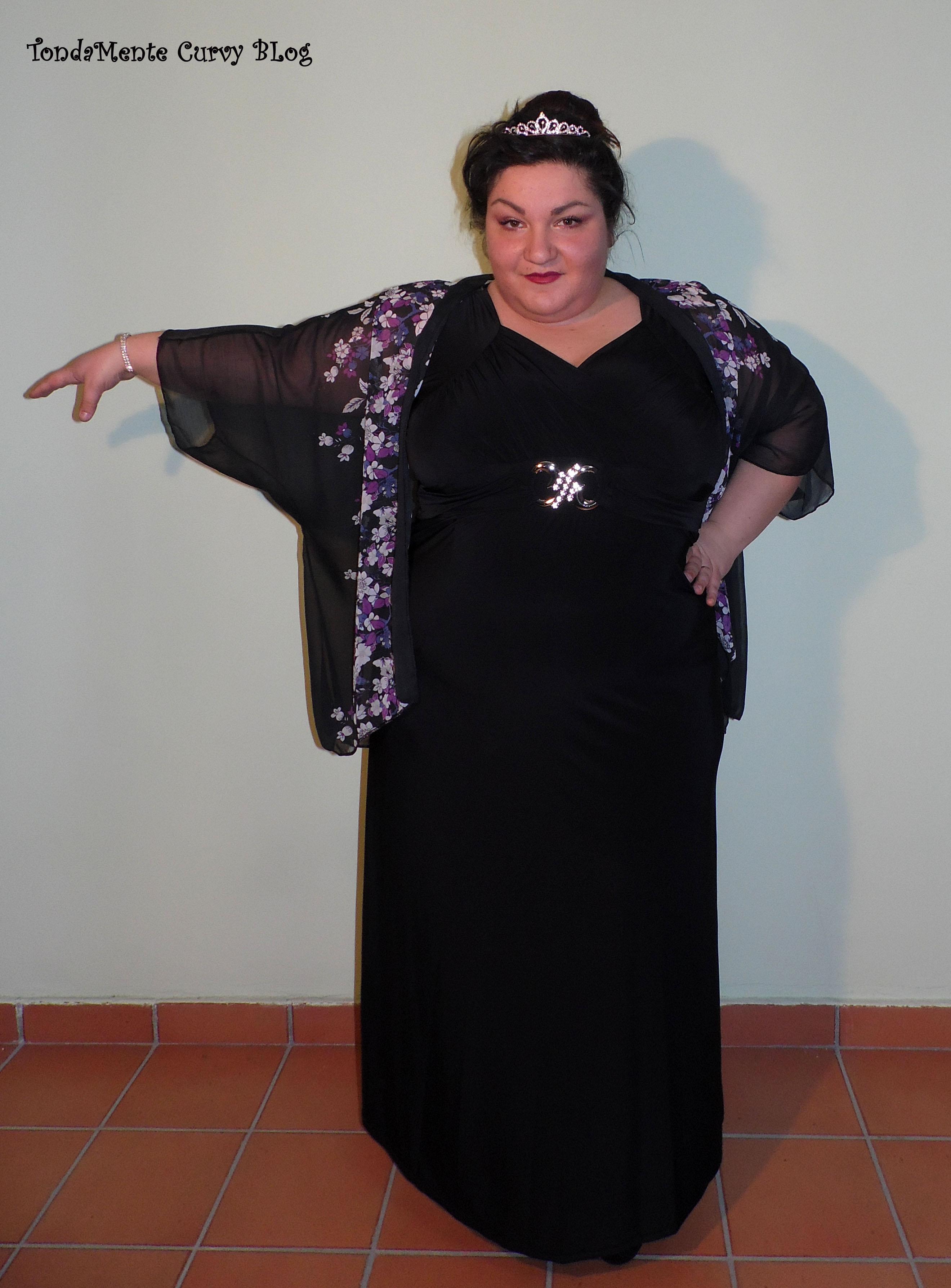 tonda abito nero lungo 2