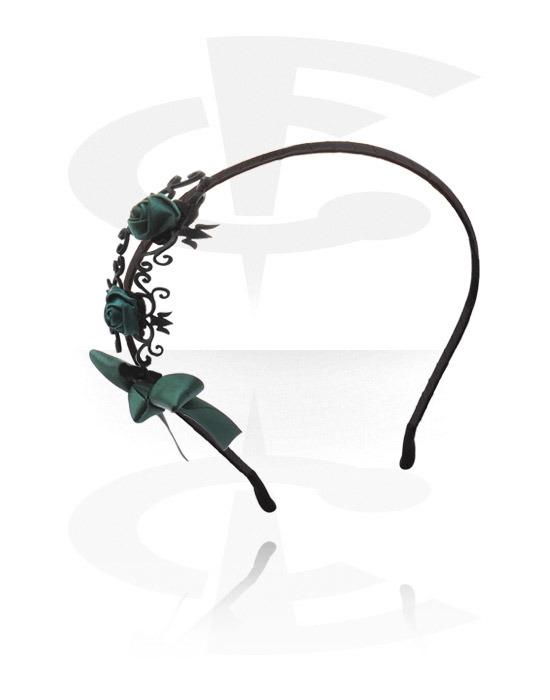 YM-HA-19_L-Bigiotteria-Accessori-per-Capelli-Nastro-per-capelli-vintage-Metallo-Stoffa