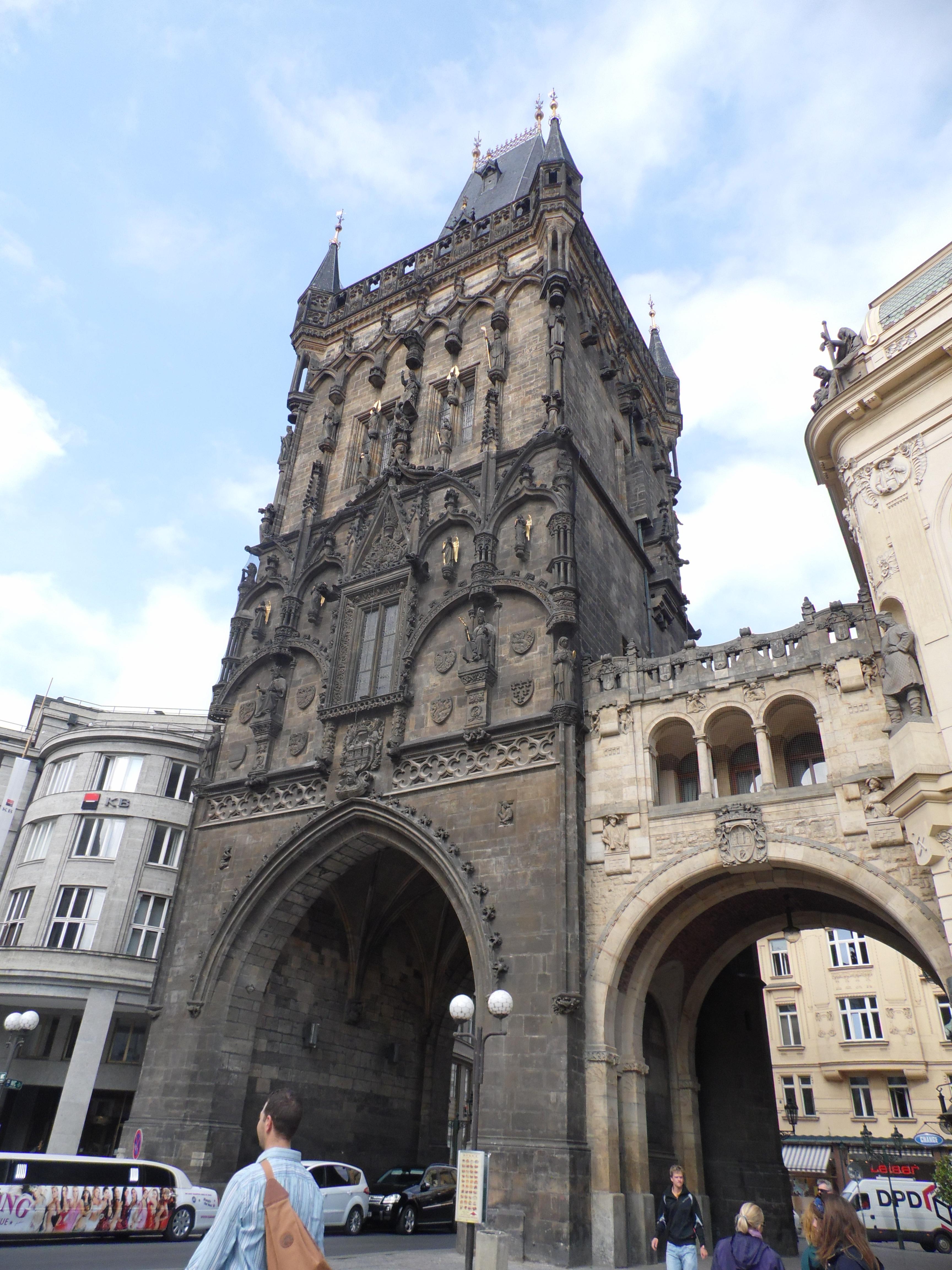 Torre delle Polveri, Praga 2015, TondaMente Curvy Blog