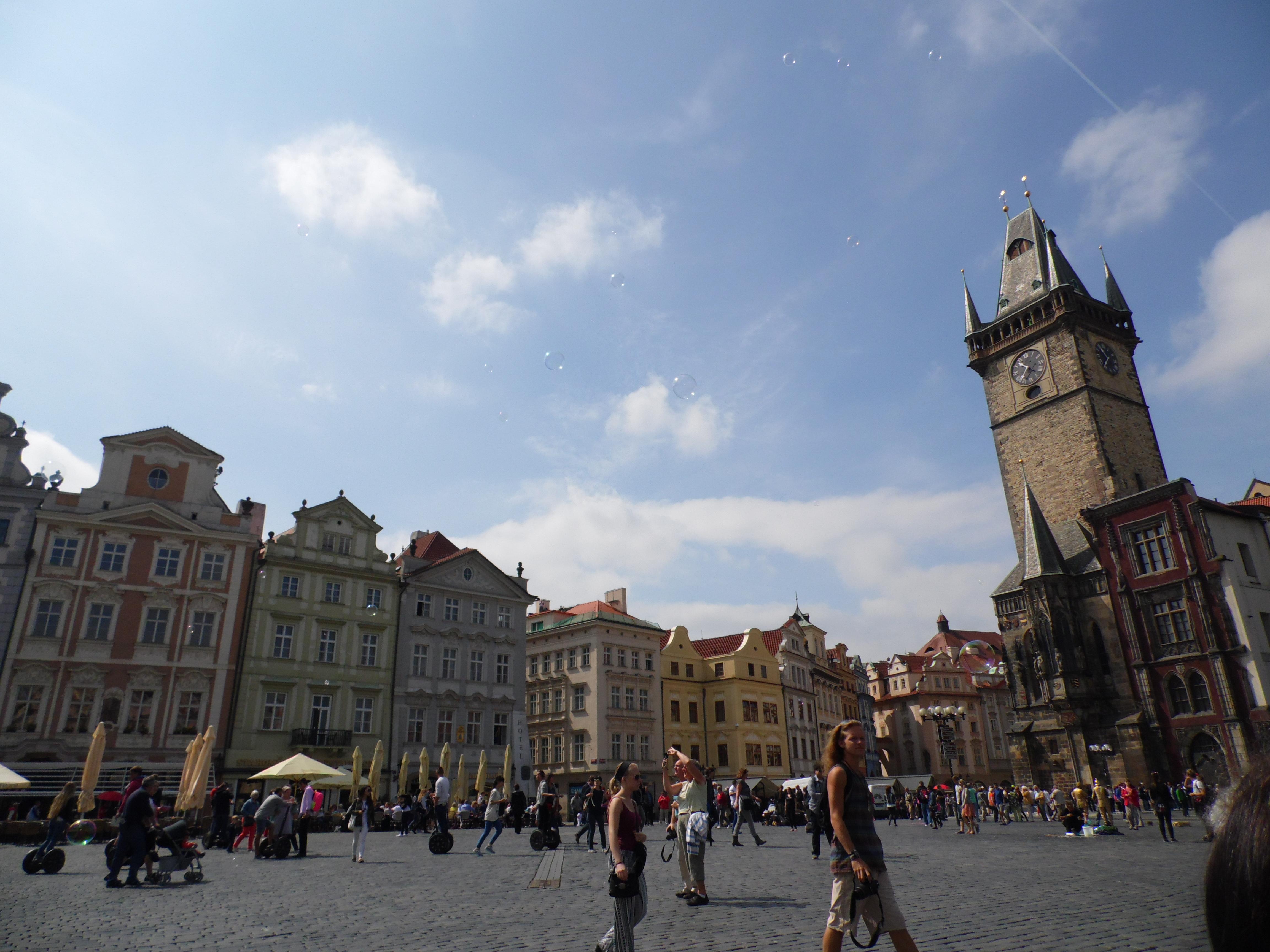 Piazza della Città Vecchia, Praga 2015, TondaMente Curvy Blog