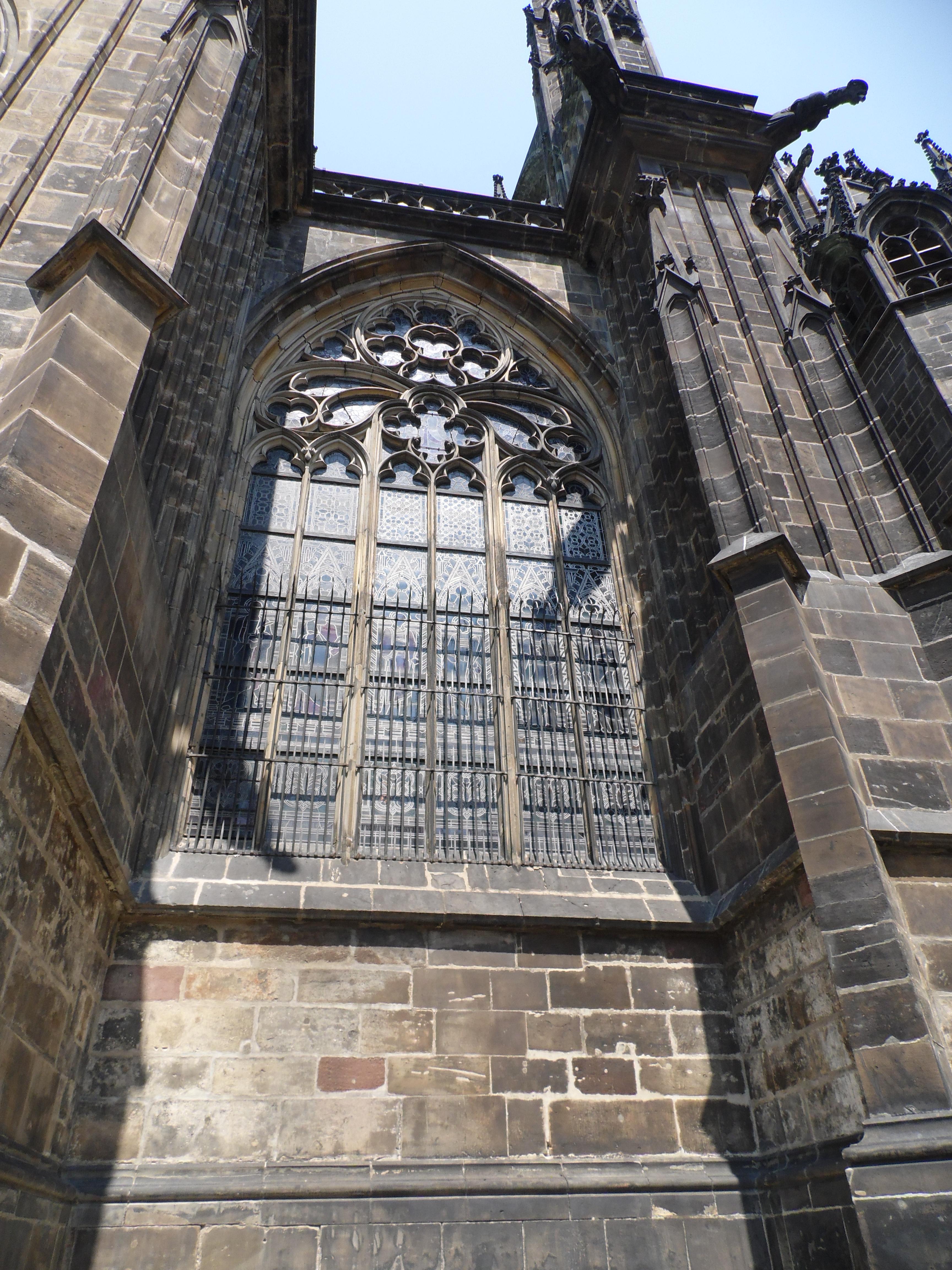 Dettaglio Cattedrale di San Vito all'interno del Castello, Praga 2015, TondAMente Curvy Blog