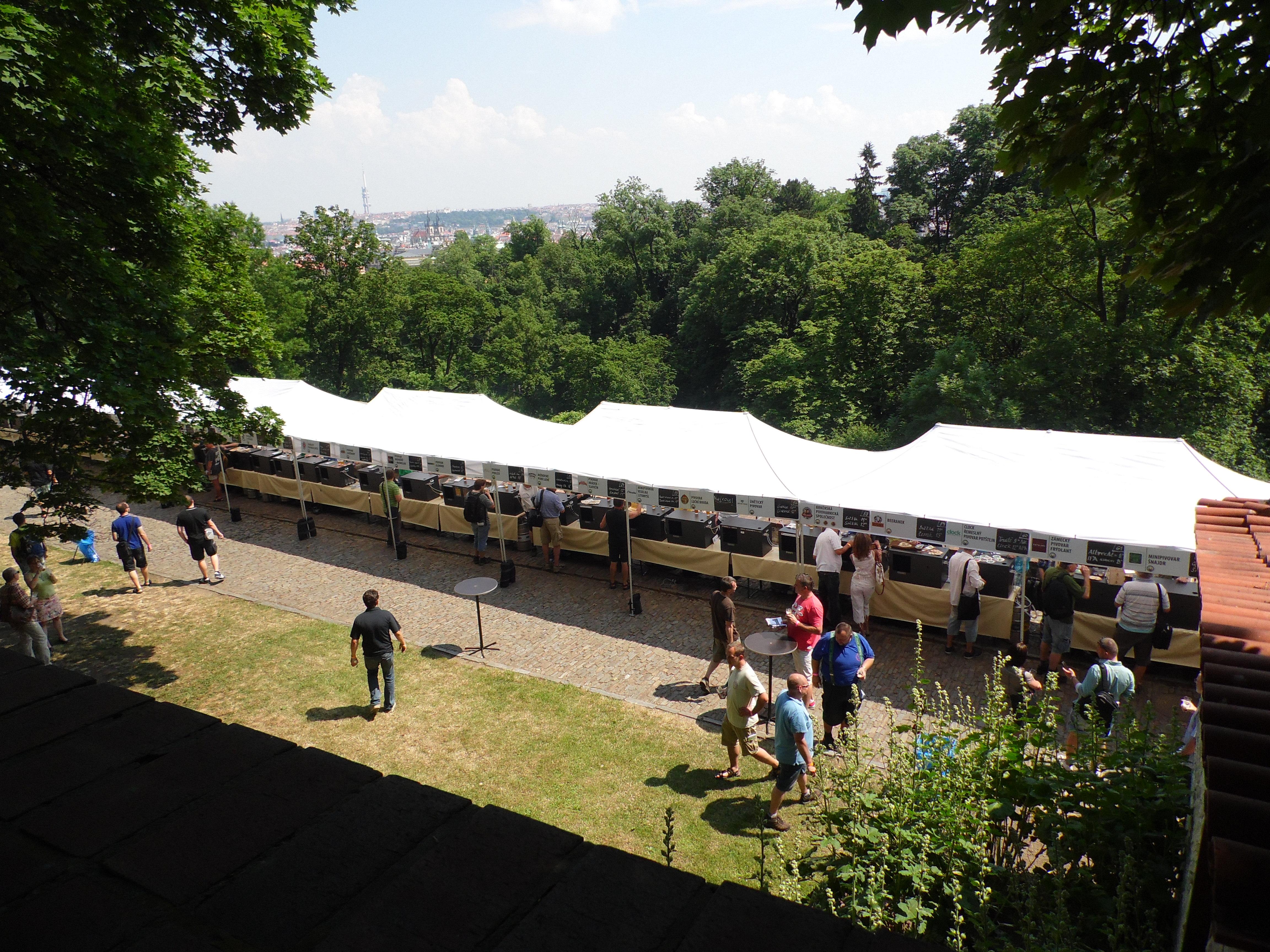 Beer Festival nei Giardini del Castello, Praga 2015, TondaMente Curvy Blog